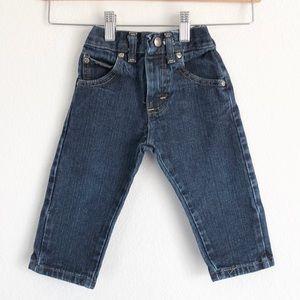 Wrangler infant dark wash jeans